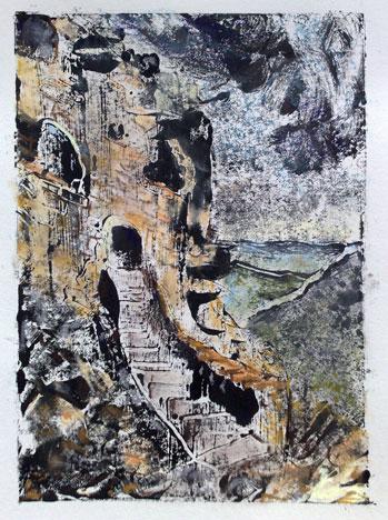 Die Katharerfestung aus dem 12. Jahrhundert, 2009