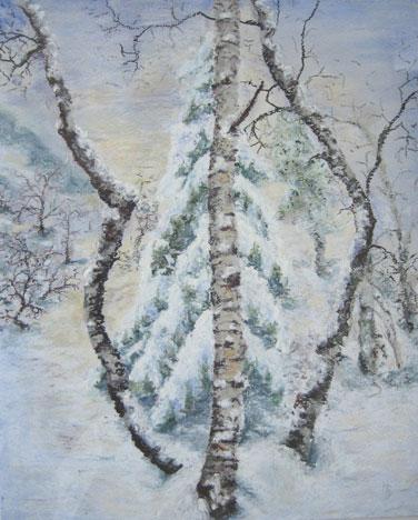 Ruhe im Winterwald, 2007