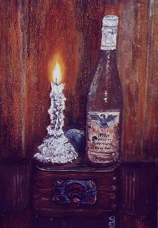 Bei Kerzenschein im Weinkeller, 2004